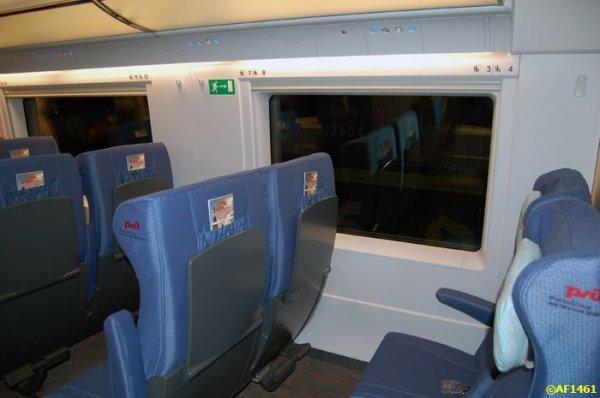 Сапсан фото салона вагона бизнес класса - bb427