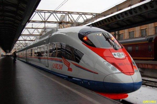 Поезд Siemens Velaro RUS,